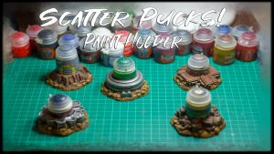 Scatter Pucks - Paint Holder