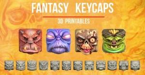 Fantasy Keycaps