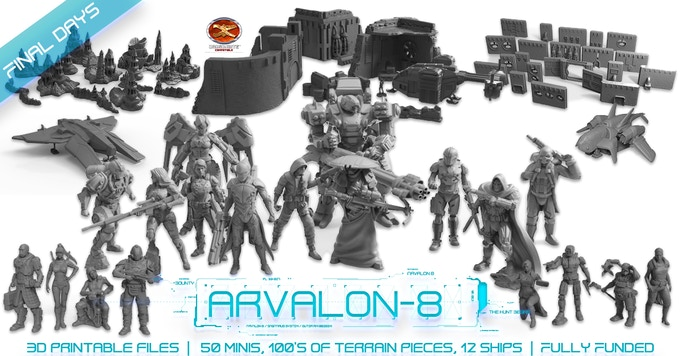 Arvalon 8 Final Days