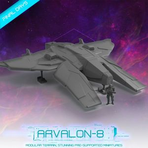 Arvalon 8 Starship