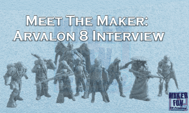 Meet the Maker: Arvalon 8 – RM Printable Terrain Interview