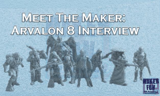 Meet the Maker: Arvalon 8 – RM Printable Terrain Interview