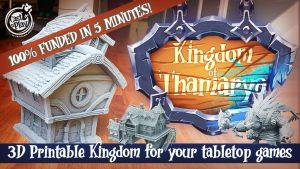 Kingdom of Thamarya   3D Printable Fantasy City & Monsters