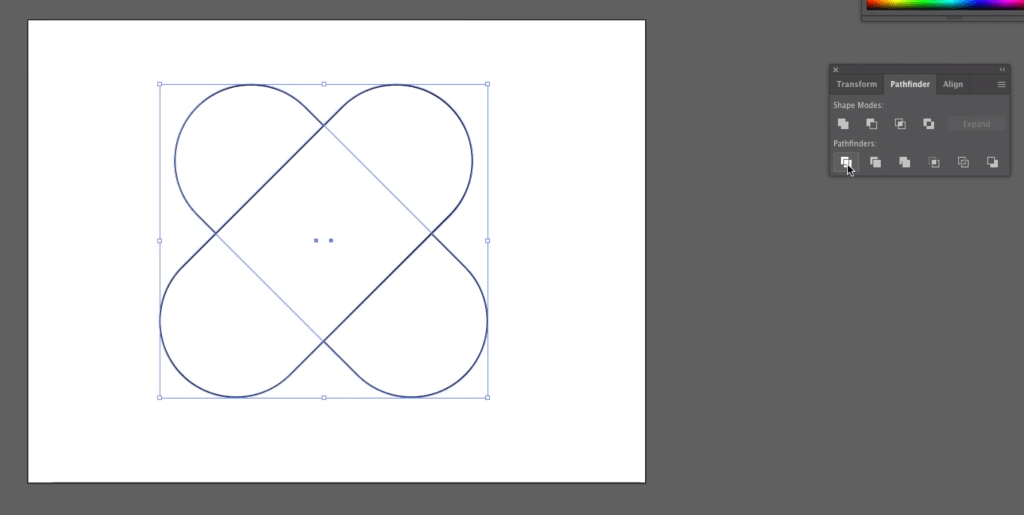 Make a Heart: Divide with the Pathfinder Tool in Illustrator