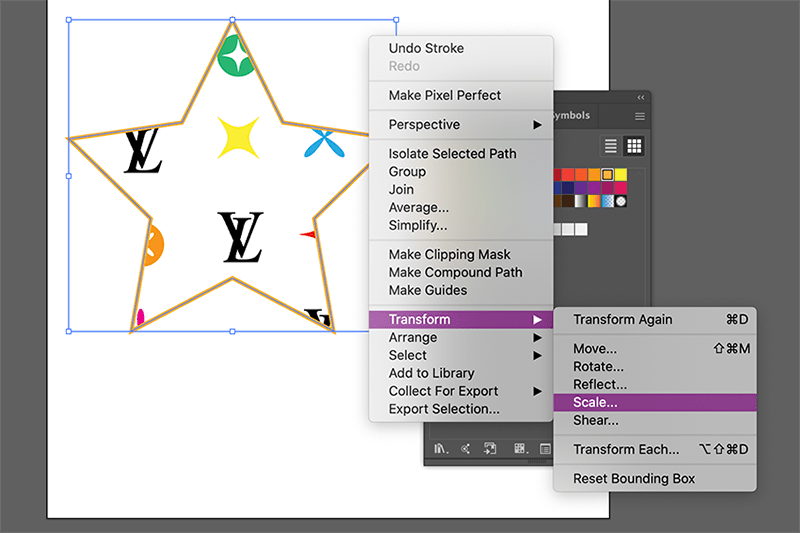 filling custom shapes with your pattern in illustrator