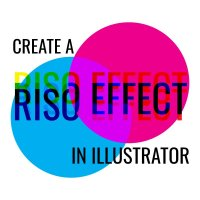 How to Fake a Riso Print Effect in Illustrator
