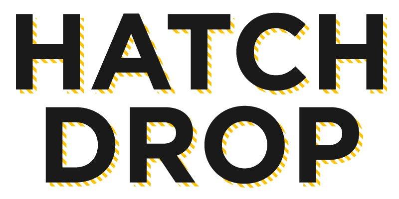 hatch mark drop shadow text effect adobe illustrator
