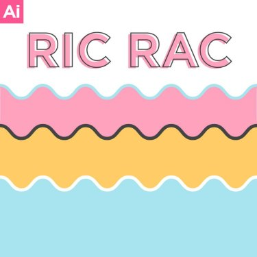 Easy Illustrator Ric Rac Tutorial