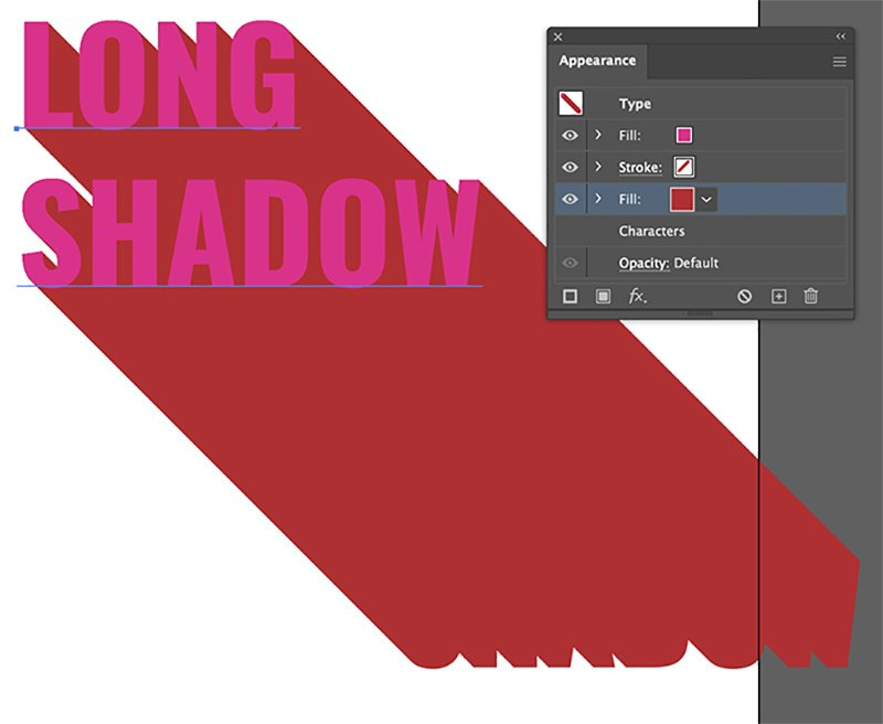 Long Shadow Effect Illustrator Tutorial