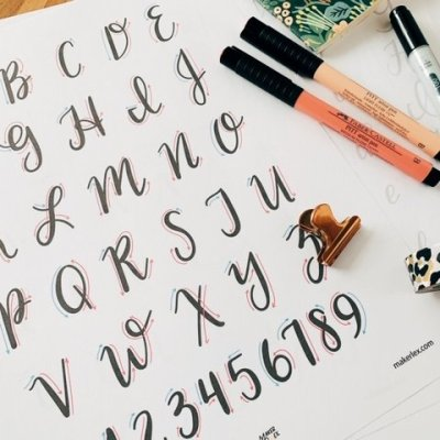 5 Places to Learn Hand Lettering Free Online