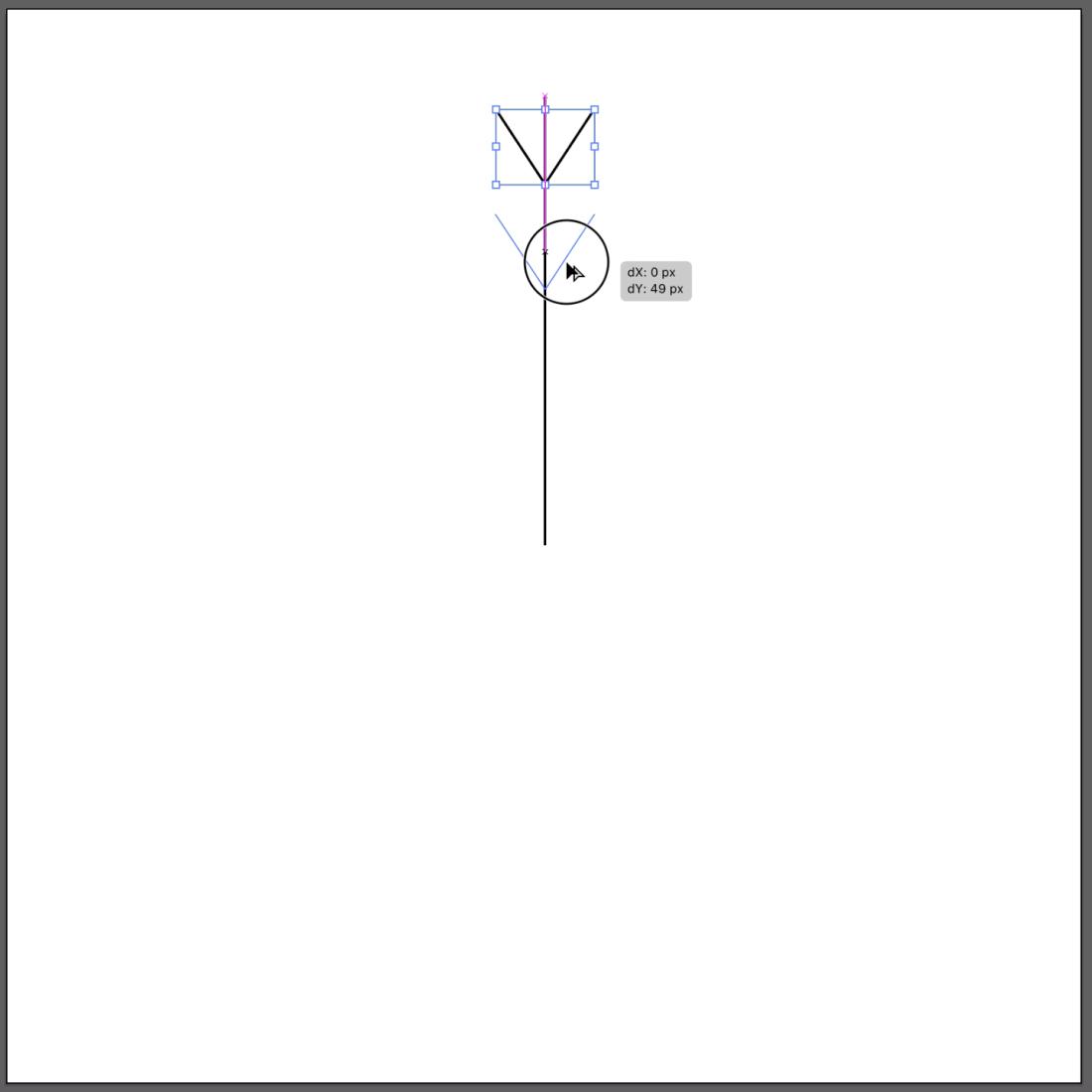 Step 4 icon in illustrator