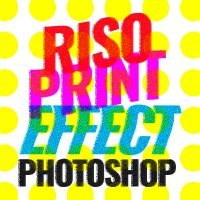 Riso Print Effect in Photoshop