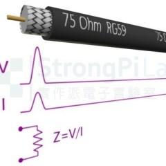 【實作實驗室】電纜阻抗75Ohm VS. 電阻75Ohm