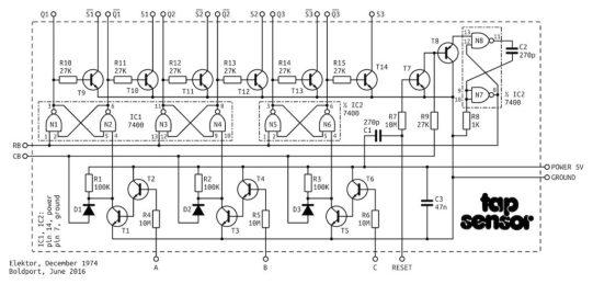 Tap Sensor Schematic