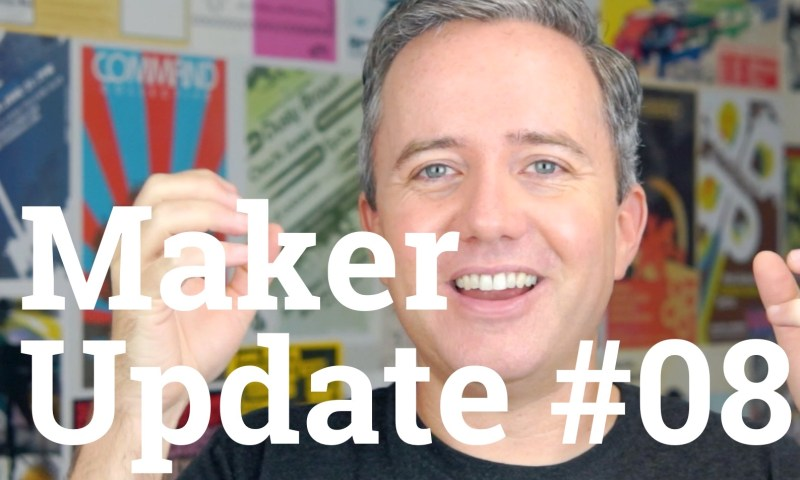 Maker Update 08 Title Card