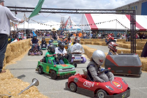 Power Racing Series at Bay Area Maker Faire 2016.