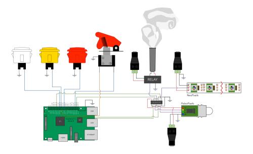 Volcano-Circuit Diagram