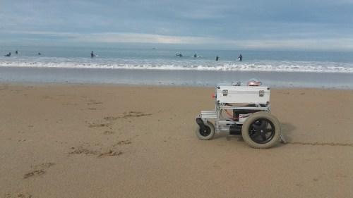 Pablo Odysseus beach bot