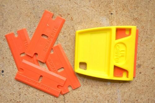 Scraperite Plastic Razors