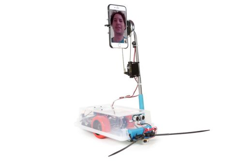 DIY Telepresence Robot by Randy Sarafan.