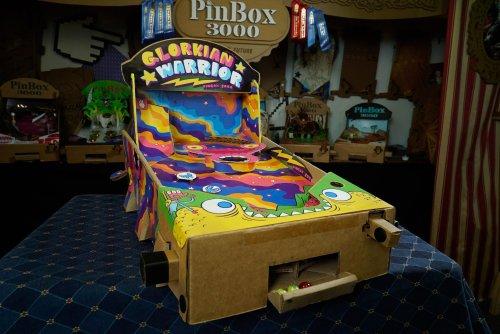 Pinbox 3000 Glorkian Warrior Design