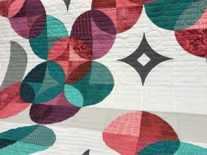 Image of beautiful quilting on sample quilt by The English Rose.