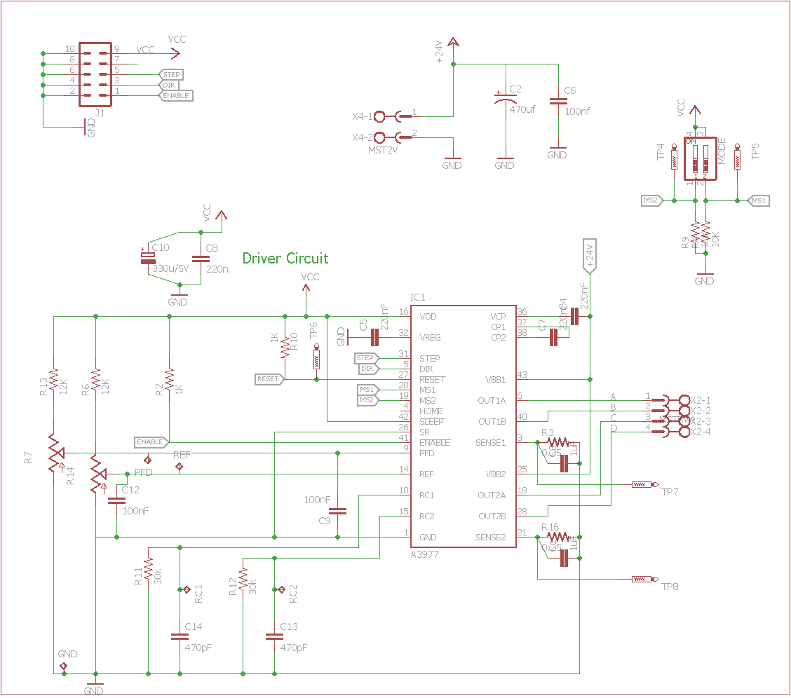 A3977 Schematics