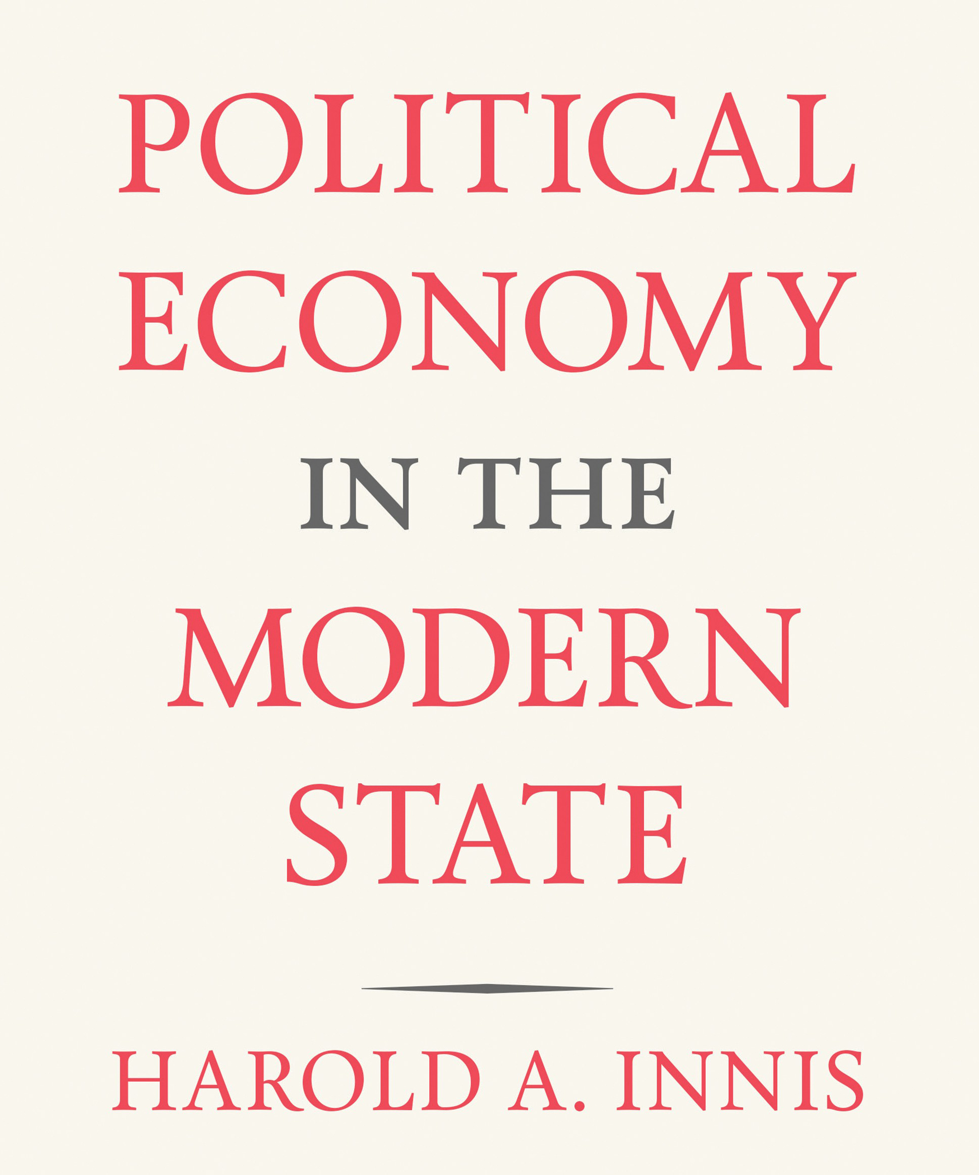 Political Economy in the Modern State cover art