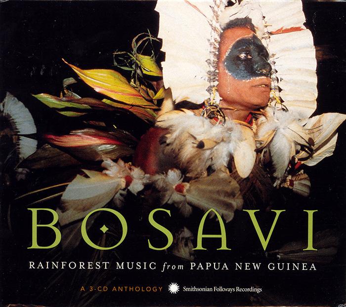 Album cover for Bosavi Rainforest Music from Papua New Guinea