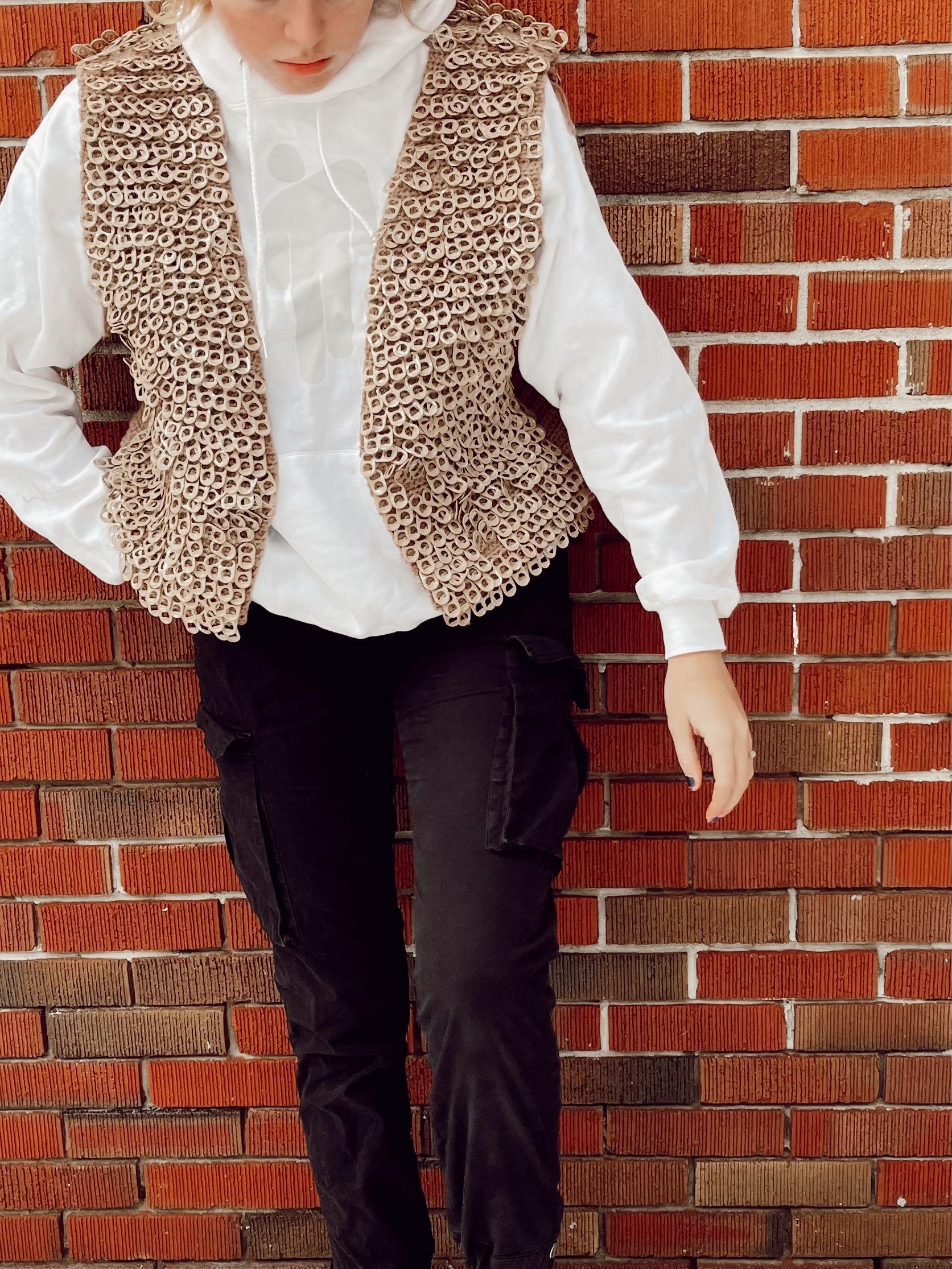 Modelling the pop tab vest