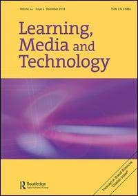 Journal Cover: Learning, Media and Technology