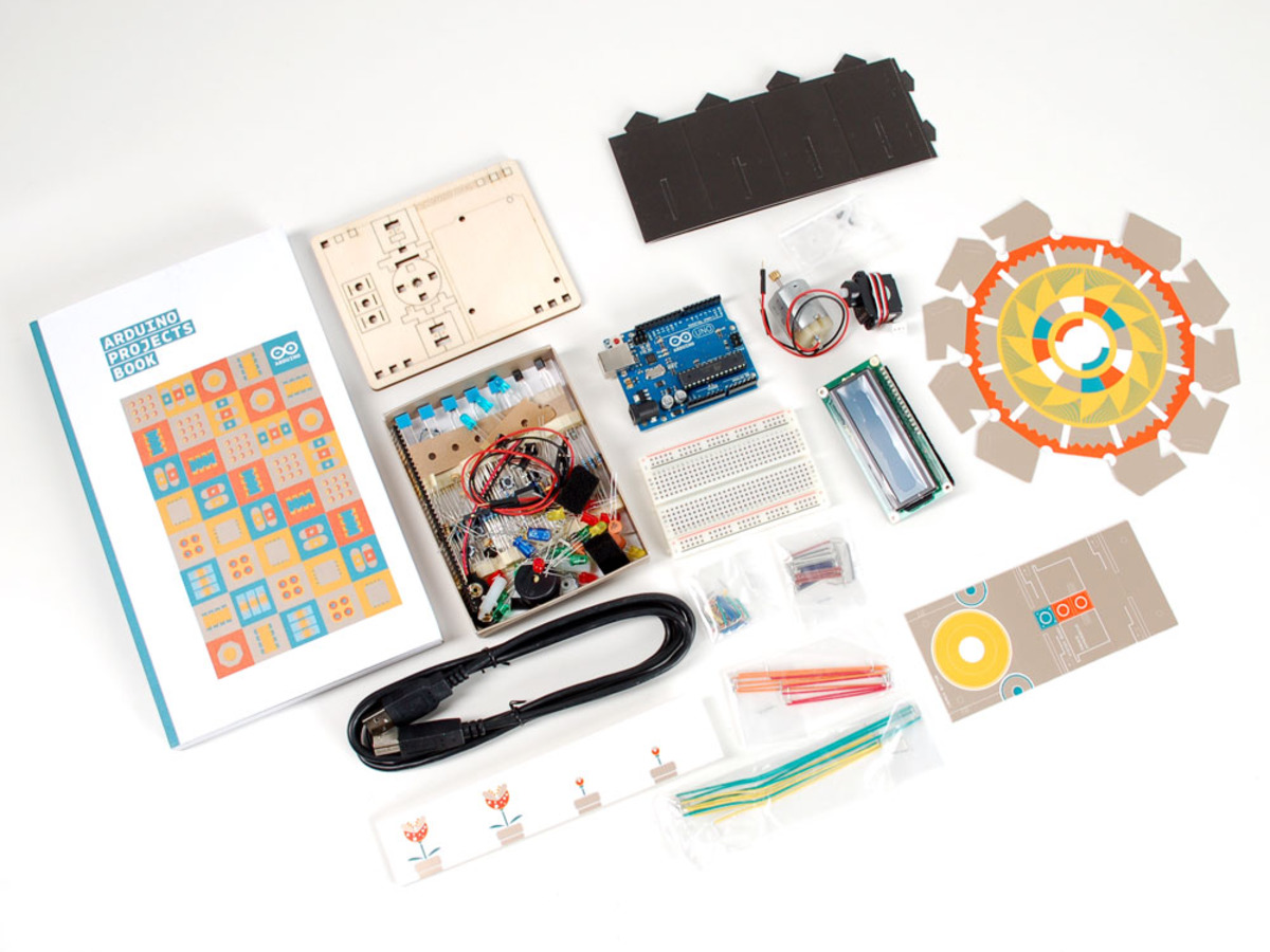 TRAILER ARDUINO STARTER KIT UNBOXING
