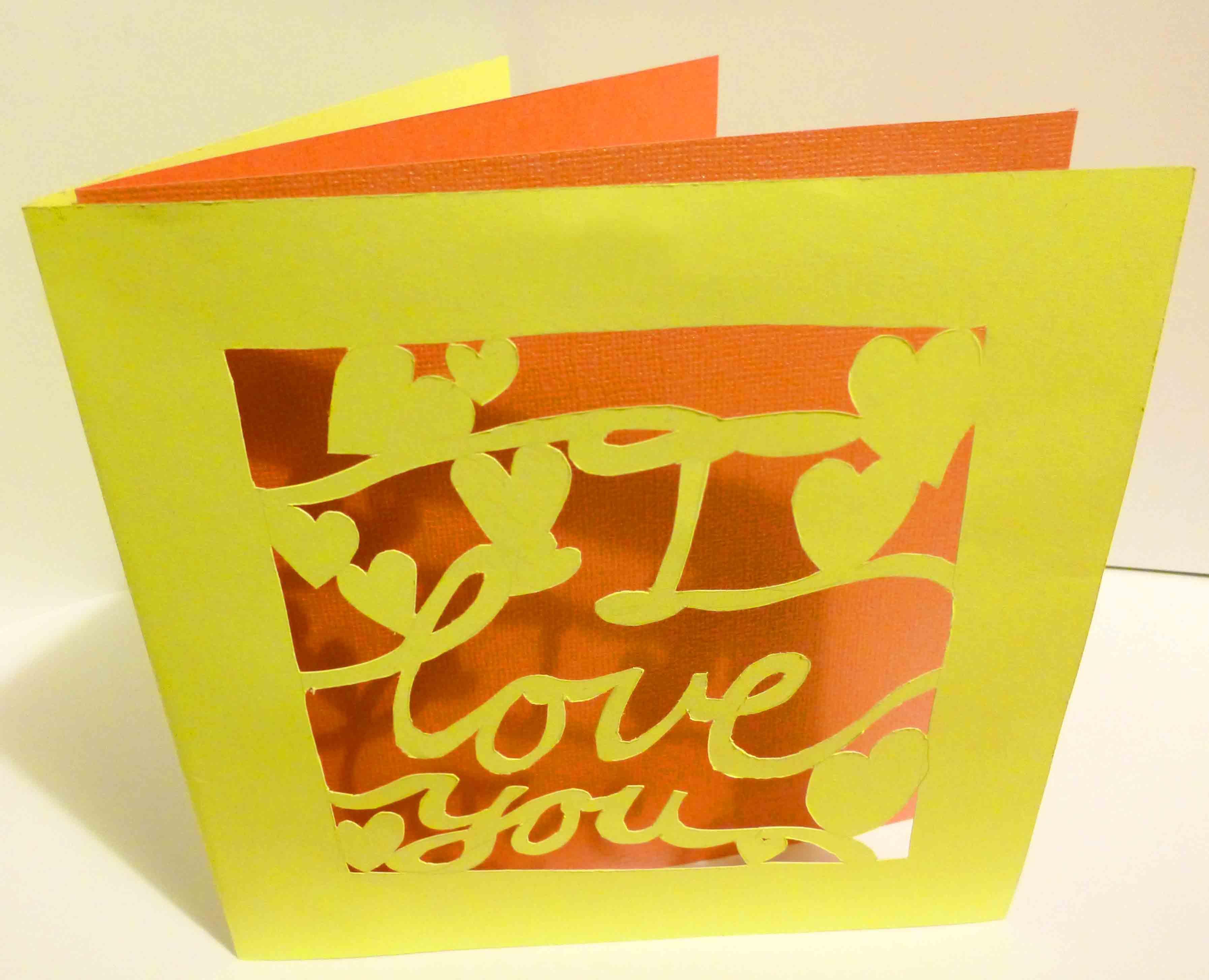Mini DIY Tutorial Cut Out Card Makery Mill
