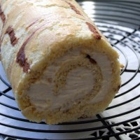 Tiramisu inspired Swiss Roll