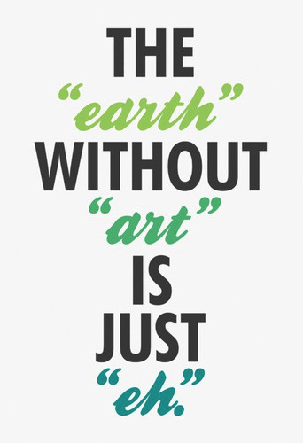 Earth Without Art...