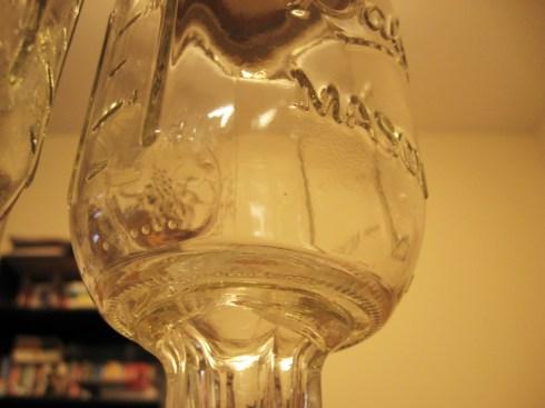 close-up redneck glass