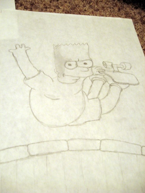 bart-simpson-drawing