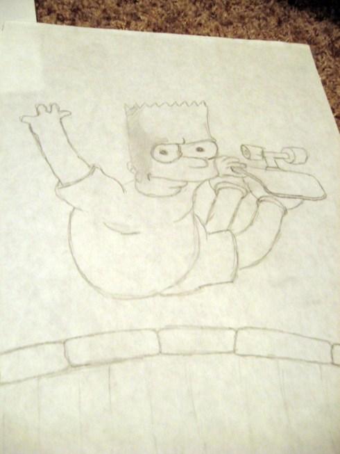 bart-simpson-drawing