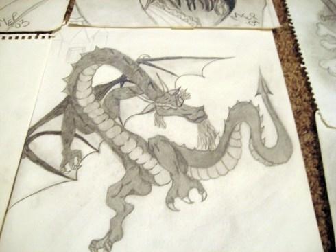 dragon-drawing