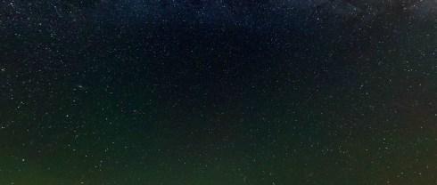 stars at the salt flats