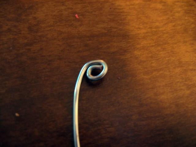 DIY Heart-Shapped Wire Earrings