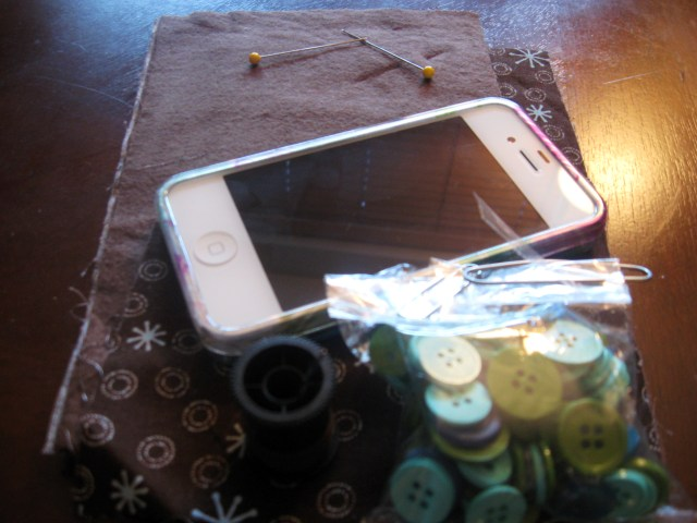 DIY cell phone carrier