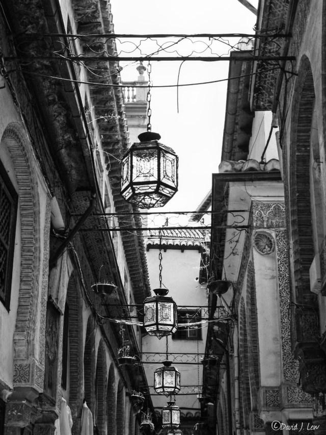 hanging lanterns- by David J. Lew- Earthquake Boy