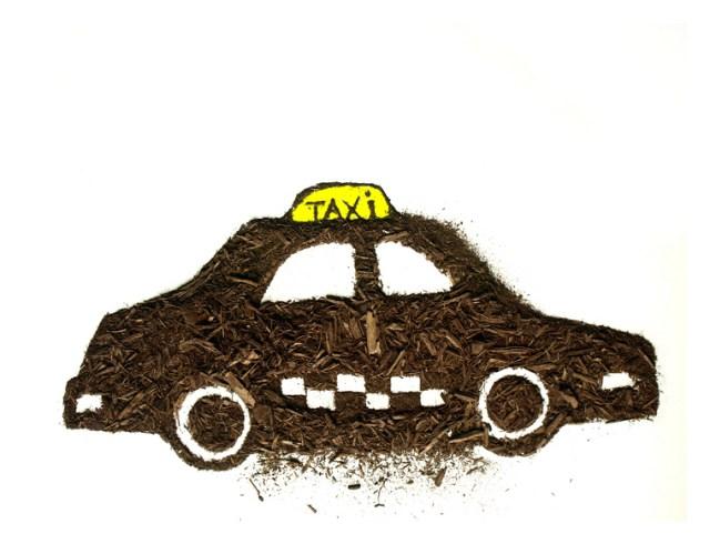 Dirty taxi by Sarah Rosado