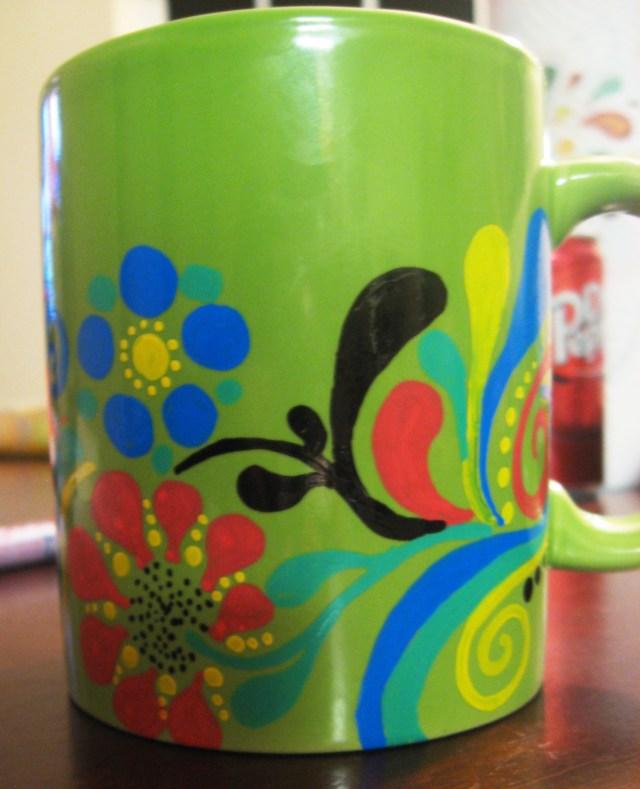 DIY Sketch Mug