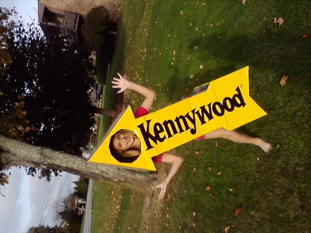 Kennywood sign costume