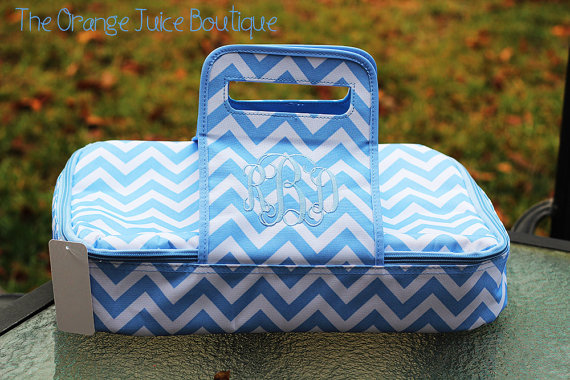 lettered casserole carrier