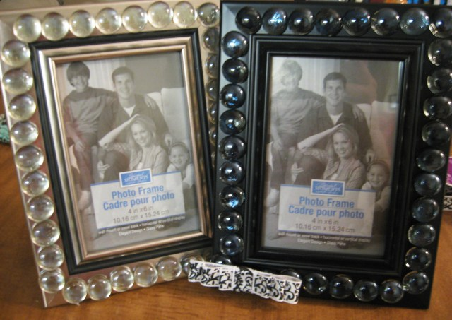 DIY Decorative Frame with Gems