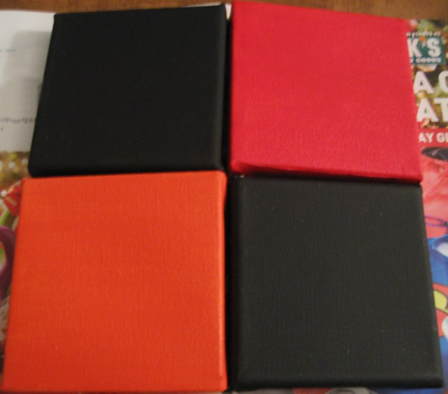 4 canvases