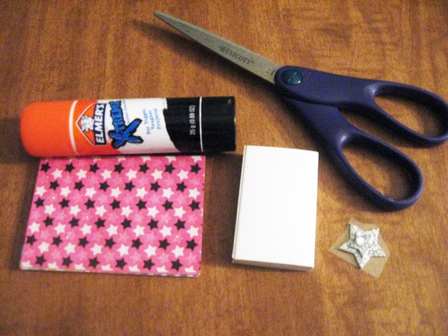 DIY matchbox materials